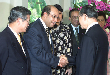 MALAYSIA'S SYED MEETS THAILAND'S KING IN HUA HIN.