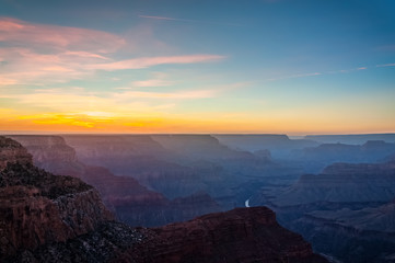 Sunset at Mojave Point - Grand Canyon