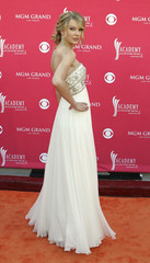 Singer Taylor Swift arrives at the 43rd Annual Academy of Country Music Awards show in Las Vegas