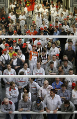 More than 10,000 employees take part in a warning strike at the Audi luxury car factory in Ingolstadt