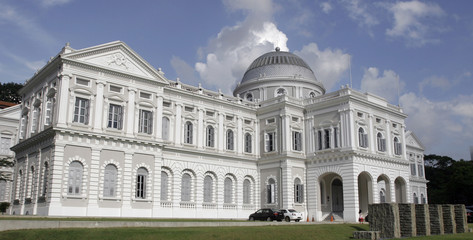 Exterior view of the National Museum of Singapore