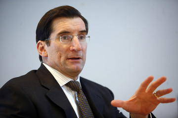 Greifeld, chief executive of the Nasdaq Stock Market, speaks at the Reuters Exchanges and Trading Summit in New York