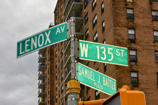 Harlem Street Intersection