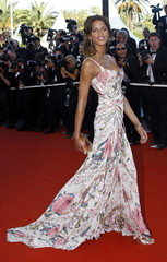 French model and actress Noemie Lenoir arrives for the screening of [French director Xavier Giannoli..