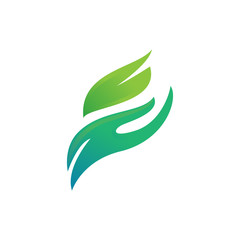 eco care logo template