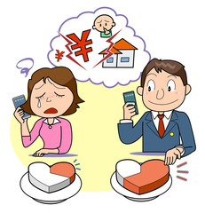 離婚-分配量の相談