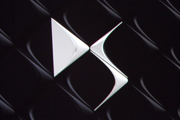 The new Logo DS of french car maker Citroen is unveiled during a news conference in Paris