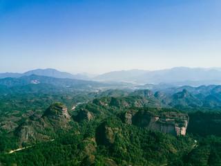 China's Taoist shrine. Landscape of Karst, Jiangxi Mount Longhu, 5A scenic spot