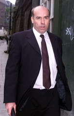 FORMER ROCK DRUMMER LONGMUIR ARRIVES AT EDINBURGH COURT.