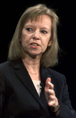 Ann Winblad of Hummer Winblad Venture Partners speaks during a panel discussion on the issue of broa..
