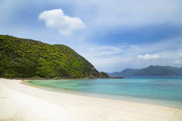 Saneku beach in Kakeroma Island