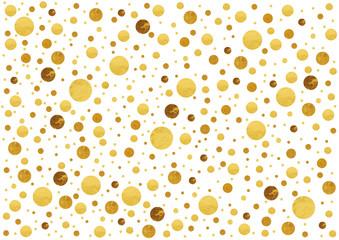 Goldene Punkte