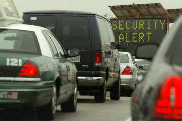 SECURITY ALERT IMPOSED AT LOS ANGELES AIRPORT.