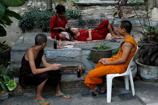 The Wider Image: Fighting addiction at a Thai monastery