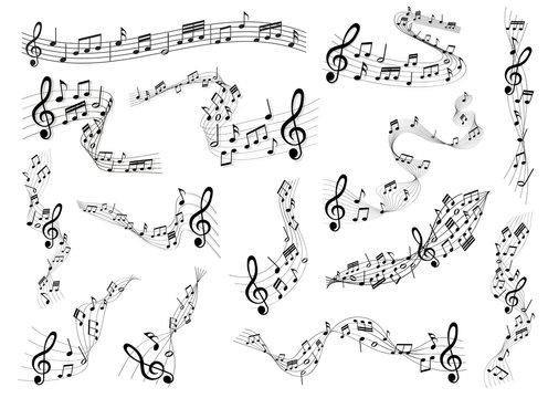sheet music set