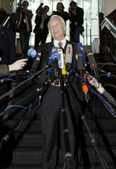 BAVARIAN PREMIER AND CSU LEADER STOIBER ADDRESSES A NEWS CONFERENCE IN BERLIN.