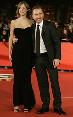 Actors Alexandra Maria Lara and Tim Roth attend the world's premiere for their latest movie 'Youth without youth' at the Rome International Film Festival