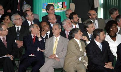 BRAZILIAN PRESIDENT LULA DA SILVA MEETS WITH HIS CABINET.