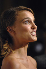 Actress Portman is interviewed at the 22nd American Cinematheque Awards Show in Beverly Hills