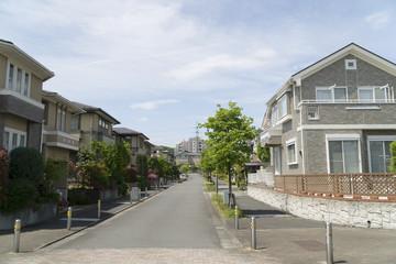 大規模分譲住宅街 イメージ