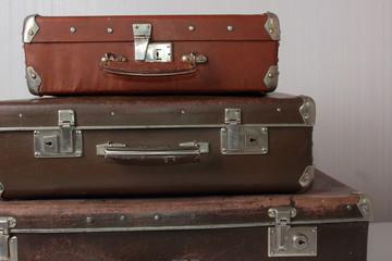 Old suitcases vintage