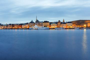 Stockholm, Gamla Stan bei Nacht