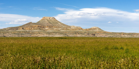 Upper Table High Butte Wind River Reservation Wyoming Western USA