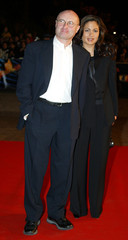 BRITISH SINGER PHILL COLLINS ARRIVES IN CANNES FOR NRJ MUSIC AWARDS.