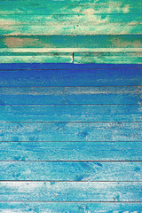 The old blue wooden texture natural patterns of wood vertical orientation