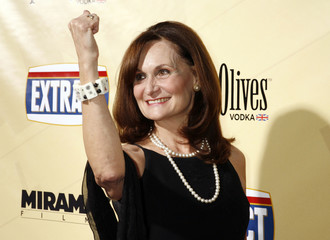 "Actress Beth Grant poses at the premiere of the film ""Extract"" in Hollywood"