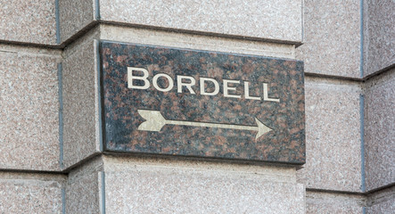 Schild 204 - Bordell