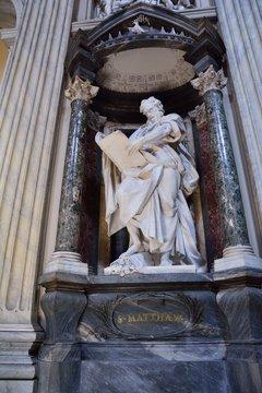 St. Matthew  San Giovanni in Laterano, in Rome.