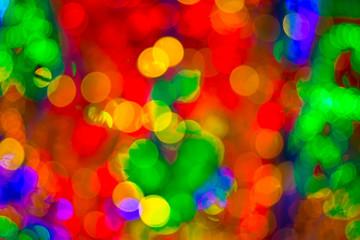 Colorful Bokeh Spot Lighting