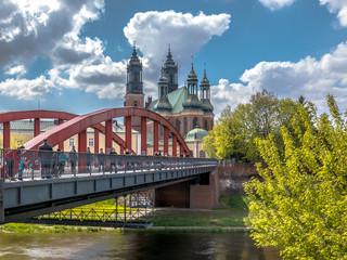 Obraz Poznań, Ostów Tumski - fototapety do salonu