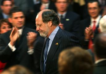 New Jersey Governor Corzine in Trenton