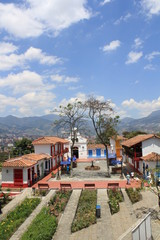 Pueblito Paisa. Medellín, Antioquia, Colombia.