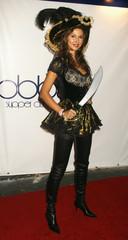 Russian born actress Svetlana Metkina arrives at the 7th annual Heidi Klum Halloween party in Los Angeles