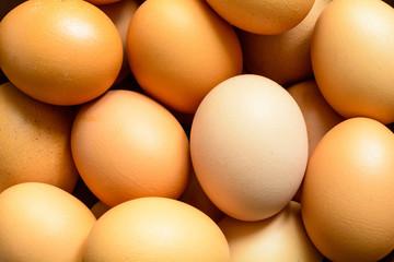 Fresh natural raw chicken eggs
