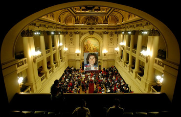 Gladys Marin head of the Chilean Communist party died at the age of 63.