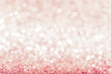 The pink abstract background.