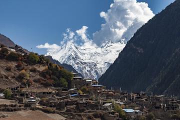 Upper Pisang, Nepal, Himalaje