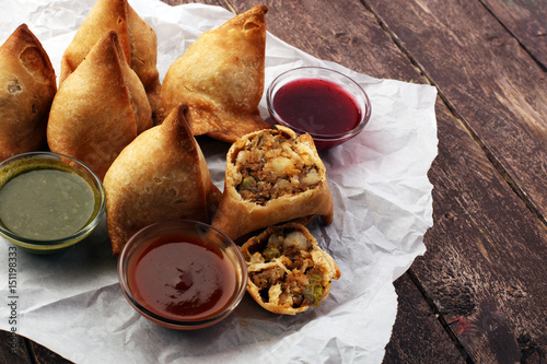Indian special traditional street food punjabi samosa for Amani classic punjabi indian cuisine