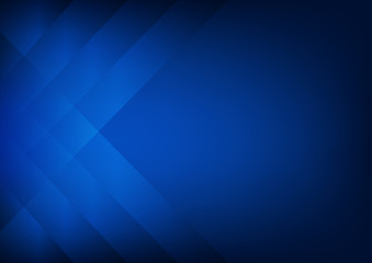 Abstract dark blue background with strips