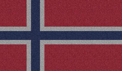 Denim flag of Norway