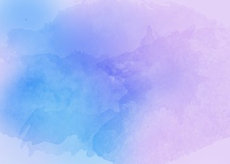 Pastel abstract watercolor paint spray backdrop - hand drawn background