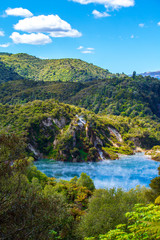 Waimangu Volcanic Valley in Neuseeland (New Zealand)