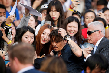 Global premiere of Pirates of the Caribbean 5 in Shanghai