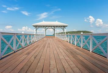 wood white bridge, Assadang , in sea where is the popular landma