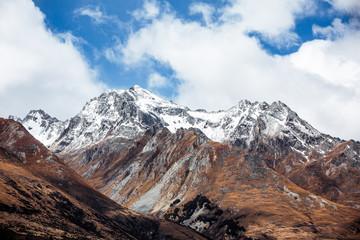 Gebirge zwischen Queenstown und Glenorchy in Neuseeland (New Zealand)