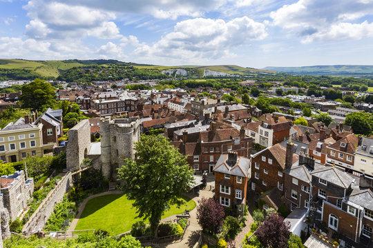 Lewes Castle and Landscape